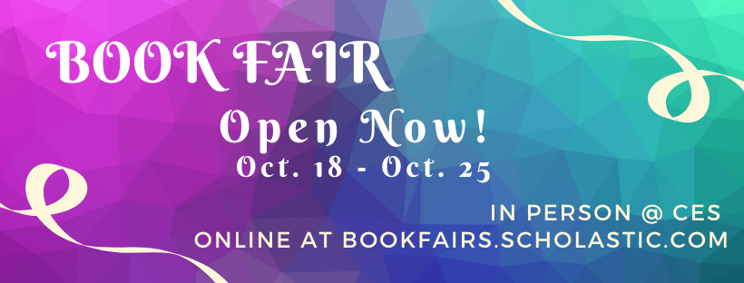 Book Fair Open Now - October 25