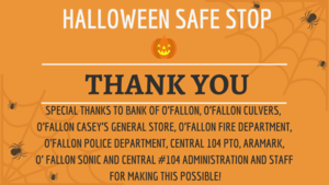 Central Halloween Safe Stop Serves Over 450!