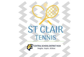 St. Clair Tennis Visits Central