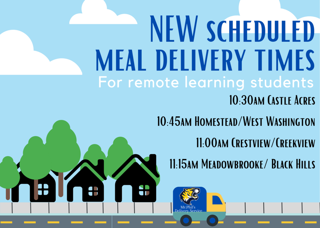 meal delivery times