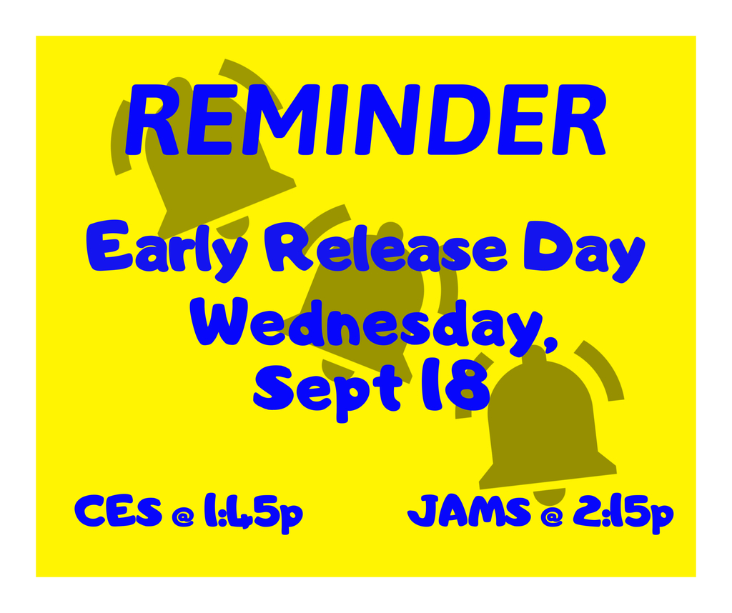 Early release day!