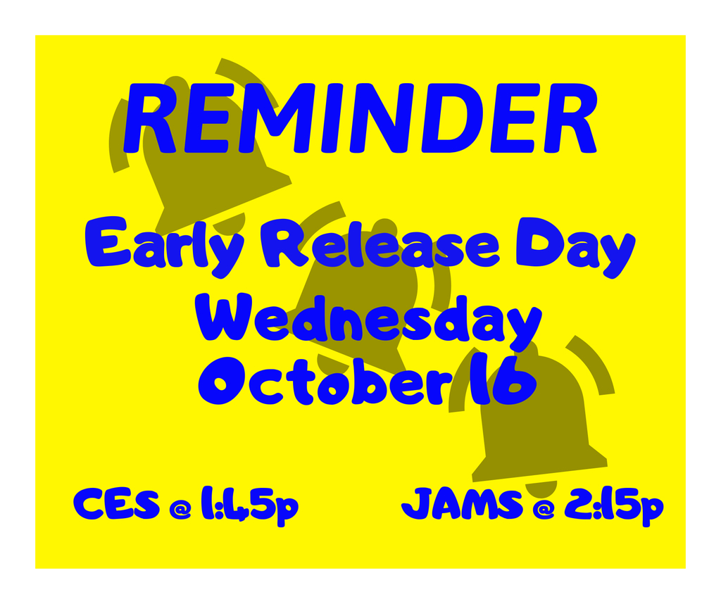 Early release day 10/16