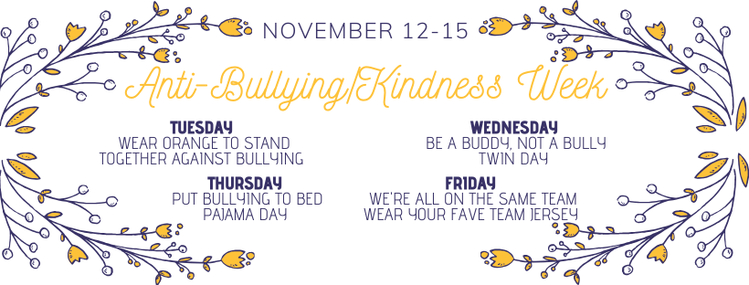 Anti-Bullying/Kindness Week